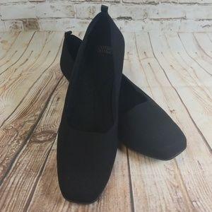 Mootsies Tootsies Black Flats
